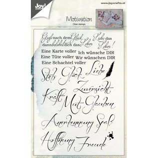Joy!Crafts Clear stempel - Spruche - Motivation