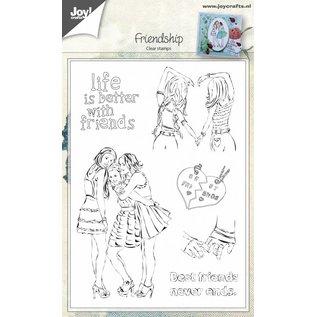 Joy!Crafts Clearstempel - Vriendschap