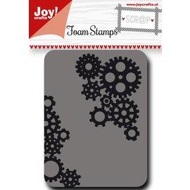 Joy!Crafts Scr@p stempel - tandwielen