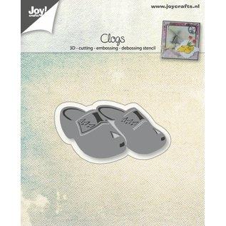 Joy!Crafts Cut-embos-debos-3D stencil - Hollandse Klompen