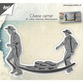 Joy!Crafts Cut-embos-debos -3D stencil - Hollandse Kaasdrager