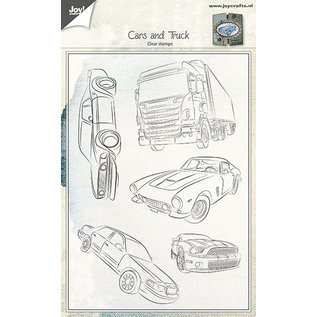 Joy!Crafts Clear stempel - Auto's en vrachtwagen