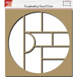 Joy!Crafts Scrapbooking Stencil Circle