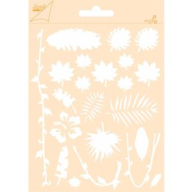 Joy!Crafts Polybesa stencil A6 - Oerwoud