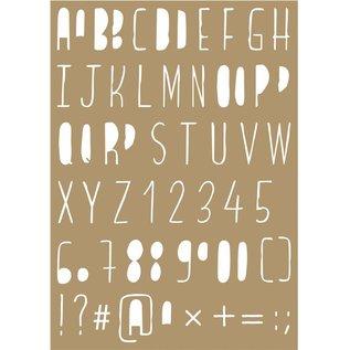 Joy!Crafts Maskstencil polybesa - Lettering stencils