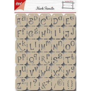 Joy!Crafts Scrap Polybesastencil - Alfabet