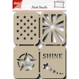 Joy!Crafts Scr@p  Stencil - Stars