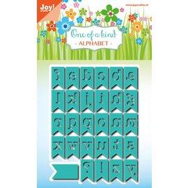 Joy!Crafts Snijstencils - Noor! - Alfabetbanner 29 st
