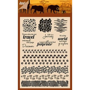 Joy!Crafts Clear stempel - Dierenprinten