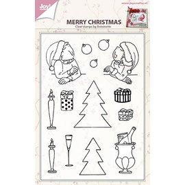 Joy!Crafts Stempel - Prettige kerstdagen by Antoinette
