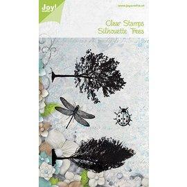 Joy!Crafts Stempel - Bomen, lieveheersbeestje, libelle