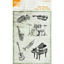 Joy!Crafts Stempel - muziek instrumenten