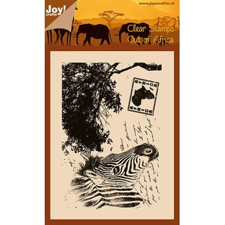 Joy!Crafts Clear stempel - Zebra