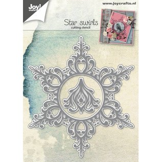 Joy!Crafts Snijstencil - Ster met swirl