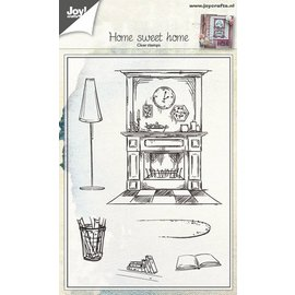 Joy!Crafts Stempel - tafereel woning (home sweet home)