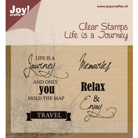 Joy!Crafts Stempel - life is a journey