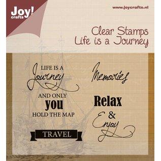 Joy!Crafts Stempel - life is a journey