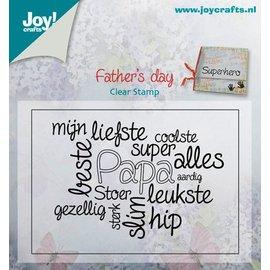 Joy!Crafts Stempel - Teksten papa