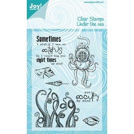 Joy!Crafts Stempel - Under the sea - octopus