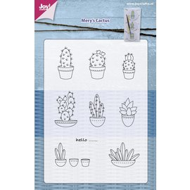 Joy!Crafts Stempel - Mery's cactussen