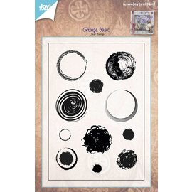Joy!Crafts Stempel - Cirkels grunge