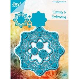 Joy!Crafts Snij-embosstencil -  Noor! - Fantastic cirkel