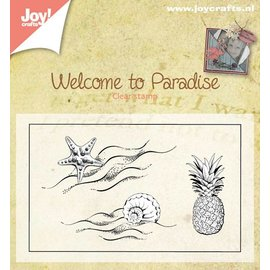 Joy!Crafts Stempel - Welcome to paradise - klein