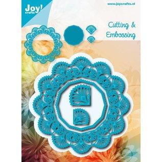 Joy!Crafts Snij-embosstencil - Bloemcirkel/Hexagon12