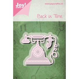 Joy!Crafts Snij-embosstencil - Back in time - Telefoon