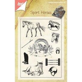 Joy!Crafts Stempel - Paarden