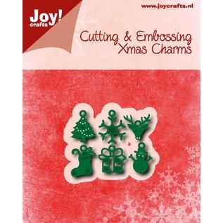 Joy!Crafts Snij-embosstencils - Kerstbedeltjes