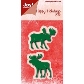 Joy!Crafts Snijstencils - Happy Holidays - Elanden