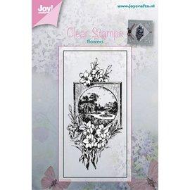 Joy!Crafts Stempel - Bloemen met lijstje