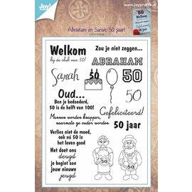 Joy!Crafts Stempel - Sarah/Abraham 50 jaar