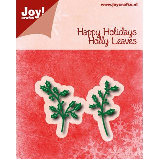 Joy!Crafts Snij-embosstencil - Happy Holidays - Hulsttakjes