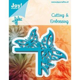 Joy!Crafts Snij-embosstencil - Hoek vlinders