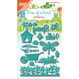 Joy!Crafts Snij-embosstencil set - Lente 15st