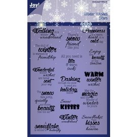 Joy!Crafts Stempel - kerst
