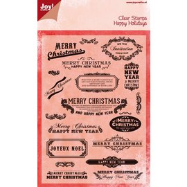 Joy!Crafts Stempel - Merry Christmas