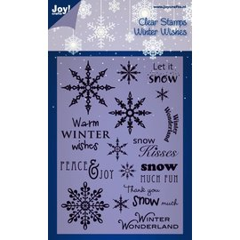 Joy!Crafts Stempel - Warm Winter Wishes
