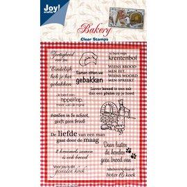 Joy!Crafts Stempel  thema Bakkerij - Zoetigheid voor jou