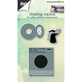 Joy!Crafts Snij-embos-debosstencil 3D - Wasmachine