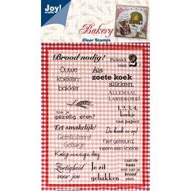 Joy!Crafts Stempel thema Bakkerij - Brood nodig!