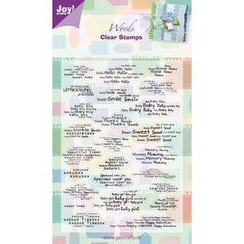 Joy!Crafts Stempel tekst NL/ENG