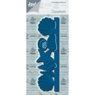 Joy!Crafts Snij-embosstencil - Schelpenrand
