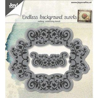 Joy!Crafts Snij-embosstencil - achtergrond eindeloos swirls