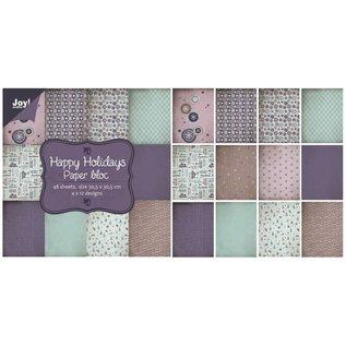 Joy!Crafts Papierblok - Happy Holidays