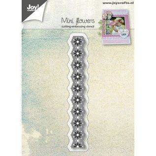 Joy!Crafts Snij-embosstencil - Mini-bloemenkant rand