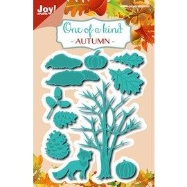 Joy!Crafts Snij-embos stencil - Herfst set met vos