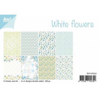Joy!Crafts Papierset  - White Flowers
